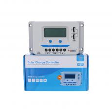 IF-PE40 40A 12/24V Controller With 2USB Display Screen Instruction Sheet Metal Radiator