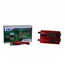 CJ-DDS800 New Arrival 800W DC12V-AC220V-240V 50/60hz Solar Power Inverter with 2 Clips Circuit Protection Function 4*USB Port Digital Display
