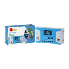 SA-3318 New Arrival SUNARICA 12V/24 5A Automatic Identification Solar Charge Controller with 4*USB Port Color Display Screen