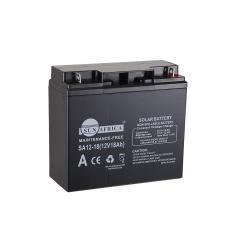 SA12-18 New Arrival SUN AFRICA 12V18AH 5kg UPS Storage Battery 181*77*167mm