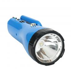 LS-122B 1 Tube+1 W Rechargeable Round Plug Solar Energy Torch with USB Interface Lampshade