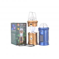 XF-5802 Rechargeable Camping Lantern With Colrful Light Egg Tube SMD5730*6 USB Interface Charging Line
