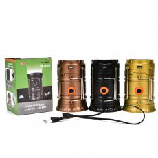 GH-5800T SMD5730*6+1W Camping Lantern Rechargeable with USB Interface AC Wire