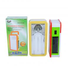 SF-218S Hot Sale  Solar Emergency Rechargeable Lamp with U type Tube 3 pcs D Size Battery Workable