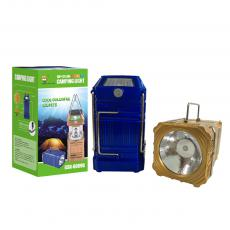 GSH-8009A Solar Energy Camping Lantern with colored box usb interface 14*7.5CM