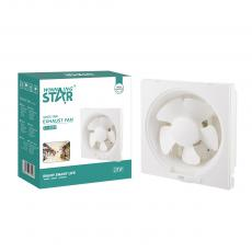 ST-4039 New Arrival WINNING STAR 110-220V 28W 6in PP 5-Blade Shutter Exhaust Fan with All Copper Motor