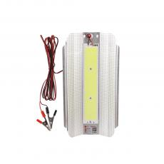 SA-6661 New Arrival SUN AFRICA 12V/50W LED COB Iodine Tungsten Lamp with Iron Sheet 3m Wire Clip*2