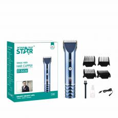 ST-5636 New Arrival WINNING STAR Rechargeable UV Hair Clipper with 337# 7000RPM Motor 18650 Lithium Battery 1500mAh Digital Display 2-Speed Guide Comb*4 Brush Oil Bottle USB Charging Wire