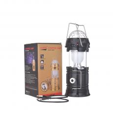 DC-5808T Solar Camping Lantern rechargeable color box with USB Interface AC charging line 17.5*9.3cm