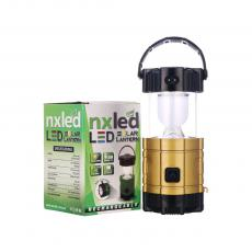 ANX-K1978 Solar Camping lanterns rechargeable color box with USB Interface 13.7*8.4cm