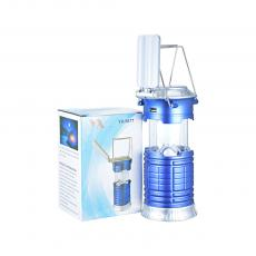 YX-5677 Solar Energy Camping Lantern with colored box USB interface 15.9*9.2cm