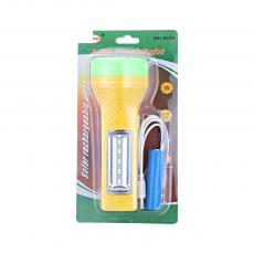 MH-8886 Solar Energy LED Torch Flashlight 16.6*6cm