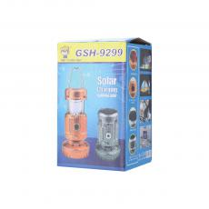 GSH-9299A Solar Energy Camping Lantern with colored box 17*10CM