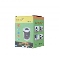 LL-5918T Solar Energy Camping Lantern with colored box 14.5*9.5cm