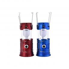 W-5900  1W Solar Portable Lamp  Color box  14.3*20.5*9cm