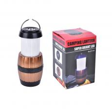 3W 1 LED Rechargeable Solar Camping Lamp with USB Charger,ZY-721