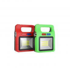 YX-5668COB  1W Solar Portable Light  Color Box  17.5*13cm