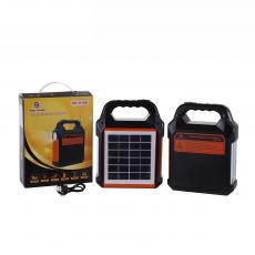 EP-0168 Solar Radio System with 2U/V8/TF Card Port Bluetooth  FM Function Antenna Detachable 6V/2W Polycrystalline Solar Panel 2 Tubes 28/2835 SMD Lamp Beads  3/18650/1500MAH Batteries 1W Aluminum Lamp Cup Solar System USB Charging Cable 22