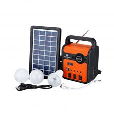 EP-371 Solar Energy System with colored box 2usb interface