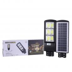 New Style 90W 15000 mAh Lithium Intelligent Integrated All in One ABS Solar Energy Street Light with  6V Polysilicon Solar Panel  10M Radar /Night/Motion Sensors Light Exposure Area 65㎡