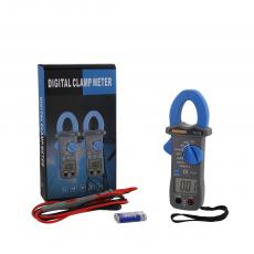 TS-200 New Arrival 3V Digital Clamp Meter Multimeter with LCD Display 61*32mm Battery Test Pen
