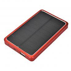 6000mah Solar Mobile Power Bank with USB Interface Indicator Light
