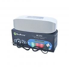 NR-2014 Audio Speaker With 1200mah Battery USB Charging Line Audio Line Bluetooth