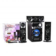 CY-A8 Spaeker Audio with AC/DC Bluetooth Radio USB/SD/FM 220V/240V 50/60HZ  Output Power:30W+15W*3