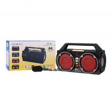 FP-33  New Style DC 7.5V 2* 2*1200mAh Bettery Portable Rechargeable Speaker with Bluetooth/USB/TF/AUX/FM/ 4