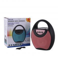 SXQF-1688 Speaker  Color box  BT/USB/TF/AUX/FM/DC5V  500 mAh  17.2*10.2*20.5cm