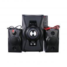 USBFM-DC618H-DT Audio Speaker With DC Wire Bluetooth Audio Line Remote Controller Instruction Sponge Mat LED Horse Race