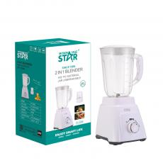 ST-5506 2020 New Design  Rotating control 2in 1 Fruit Juicer Blender Smoothie Chopping with 7025 copper Motor, copper cord(BS PLUG)