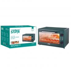 ST-9614 New Arrival WINNING STAR 220V1700W 40L Electric Convection Oven with Timer Baking Pan Rack Tray Clamp 80cm Pure copper Charging Wire VDE Plug