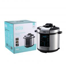 ST-9303 High Quality 6L Multifunction Electric Pressure Cooker with Touch Pad Panel for  Home Kitchen Appliance
