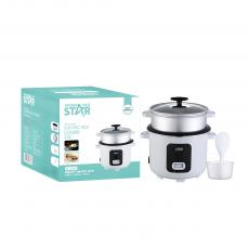 ST-9304 Top Quality 2.2L Straight Electric Rice Cooker with Heavy Duty Non stick Coating  Aluminum Inner Pot for Home