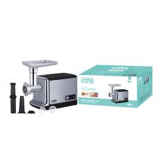 ST-5518  Hot Sale Winning Star  New Design AC 220-240V 350-450W  Electric Meat Grinder Home Sausage Stuffer Meat Mincer Sonifer  with 8830 Copper Motor BS Plug Stainless Steel Housing