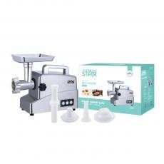 ST-5513 Winning Star Hot Sale Top Quality 1800-2000/Rated Power 700W  Meat Grinder with Reverse/2 Speed Function  Cast Aluminum Housing/ Vegetable Cutting/ sausage /Cookie/Tomator Juicer LED Indicator Light. BS Plug for Home Restaurant Appl