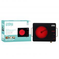 ST-9606 High Quality Vitroceram Panel  Portable Single Burner Electric Infrared Cooker for Home Travel