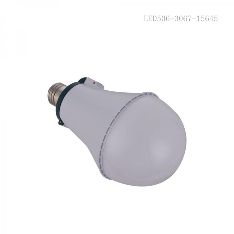 New Arrival AC 25W LED Clamshell Emergency Light Screw with 44*2835/5730 Lamp Bead 18650 Lithium Battery 1200mAh*3