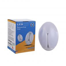 yyz-kld60 New Arrival AC85-265V 60W Deformed Egg Lamp Screw with 176*2835 Lamp Bead