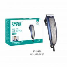 ST-5620 New Arrival WINNING STAR AC220-240V 7W Hair Clipper with 8200rpm SpeedStainless Steel Blade Guide Comb/Comb Small Brush Oil Bottle Scissor 1.75m Copper Cable VDE Plug